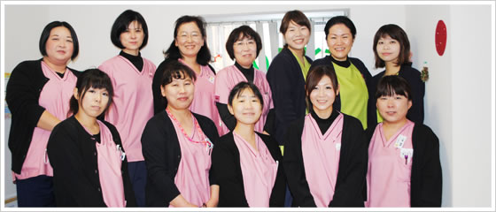 千葉県松戸市ひがし歯科クリニックのスタッフ
